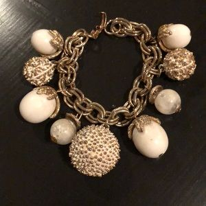 Vintage 60's charm bracelet